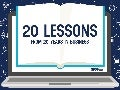 20 Lessons from 20 Years in Business