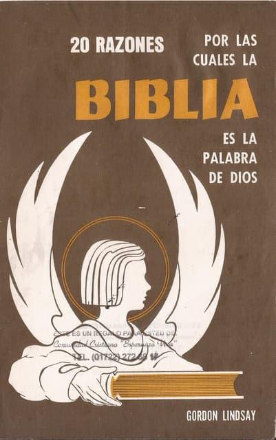 20 razones por las cuales la biblia es la palabra de Dios