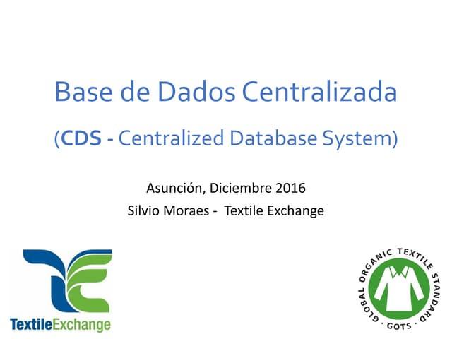 Textile Exchang y la base de datos – Silvio Moraes