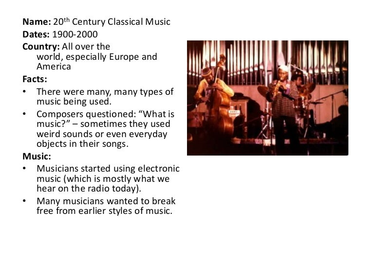 20th-century music