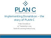 CPD for Inservice Computing Teachers - the story of PLAN C
