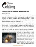 How surveys can prevent cable damages in offshore wind farms