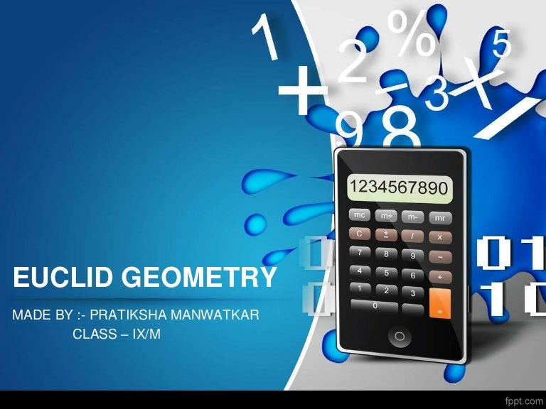 euclid geometry ppt