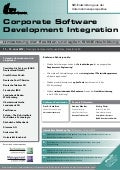 Corporate Software Development Integration
