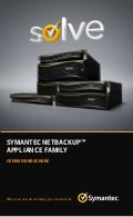 Symantec Netbackup Appliance Family