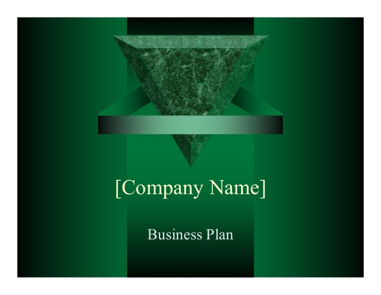 ppt business plan presentation