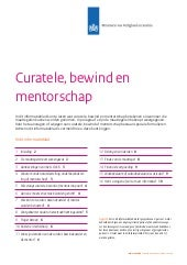 curatele bewind en mentorschap 2014 april j 21896