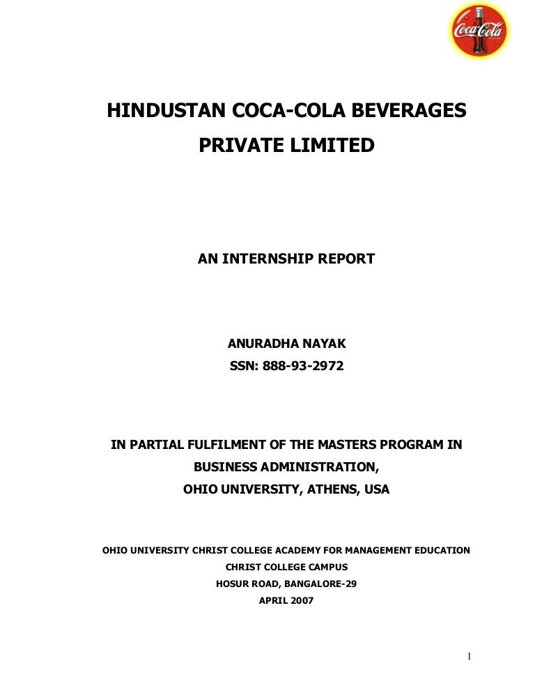 21878345 Hindustan Coca Cola Beverages Private Limited