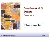 Low Power Design - PPT 1