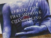 21 Reiki Tips that Improve Channelling