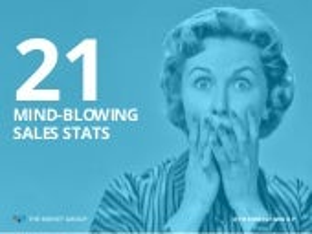 21 Mind-Blowing Sales Stats