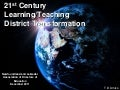 21st century learning workshop