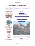 Fall 2004 Nevada Wilderness Project Newsletter
