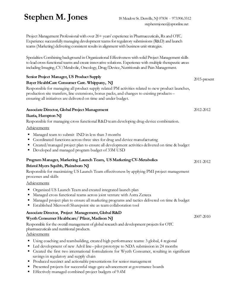 resume stephen jones 2015 - Correctional Nurse Sample Resume