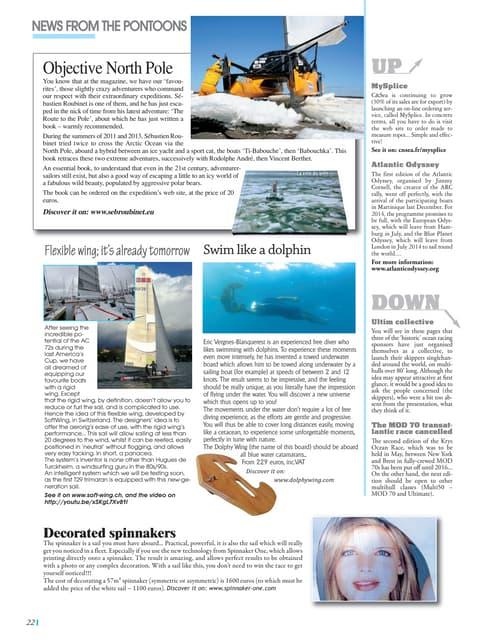 Multicoques Mag 134 02/03.14 Mysplice