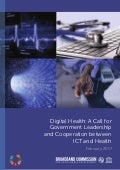 Digital Health a call for Government Leadership and cooperation between ICT and Health