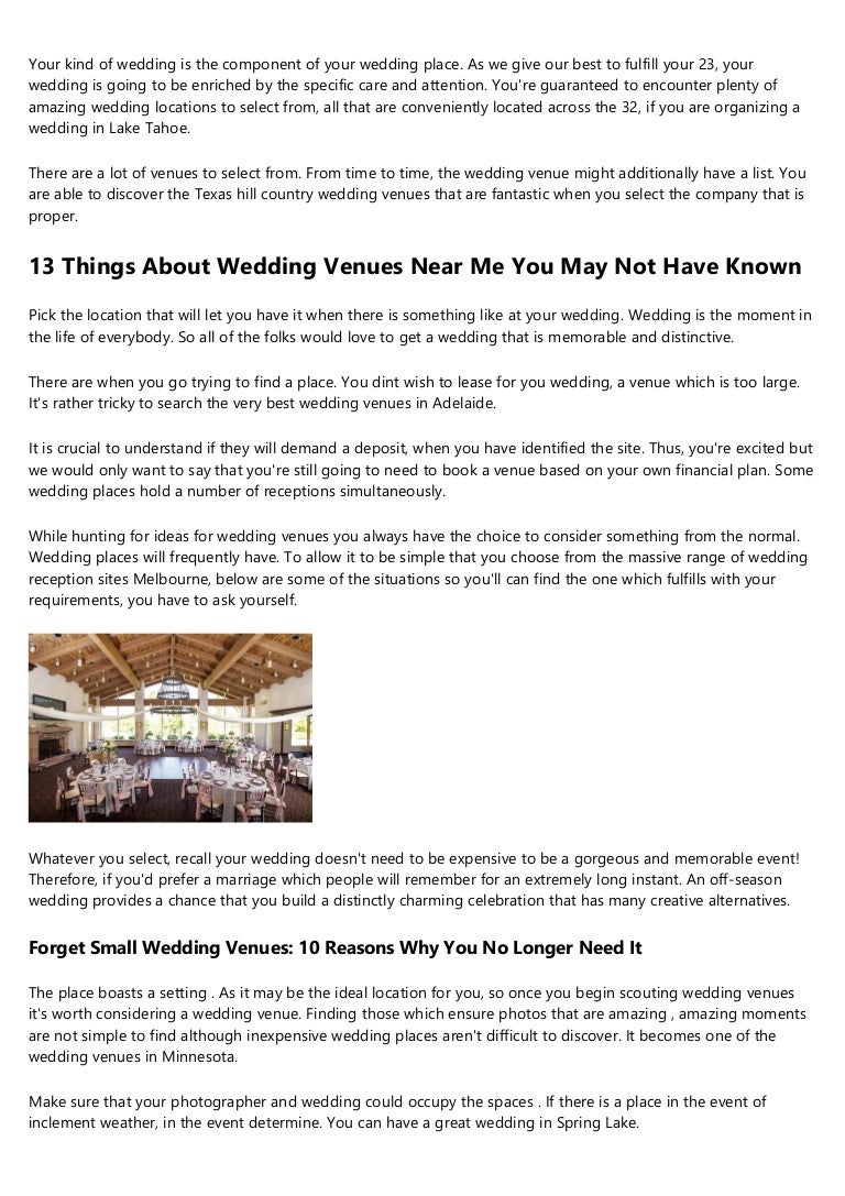 17 Signs You Work With Wedding Center