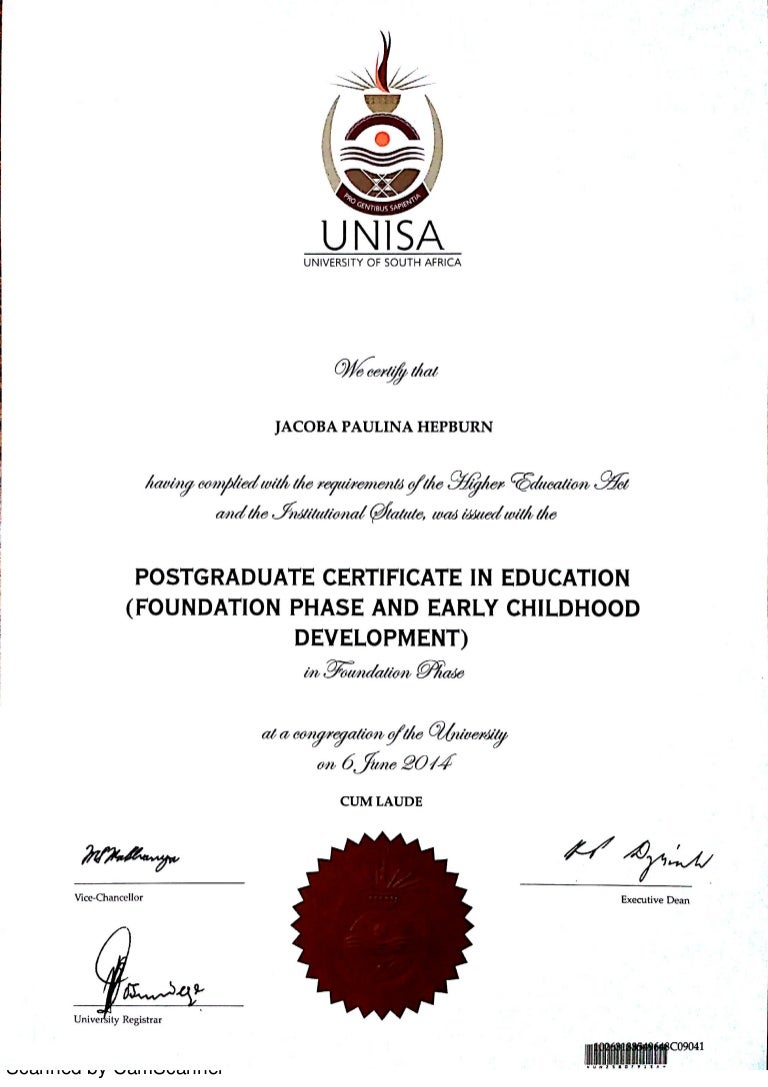 Early childhood development certificate 1betcityfo Image collections