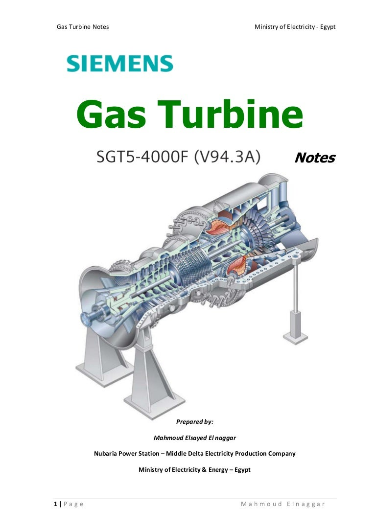 236407565 Gas Turbine Notes