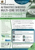 Automotive Embedded Multi-Core Systems Conference  - 16 - 18 September 2014 in Stuttgart Marriott Hotel, Sindelfingen, Germany