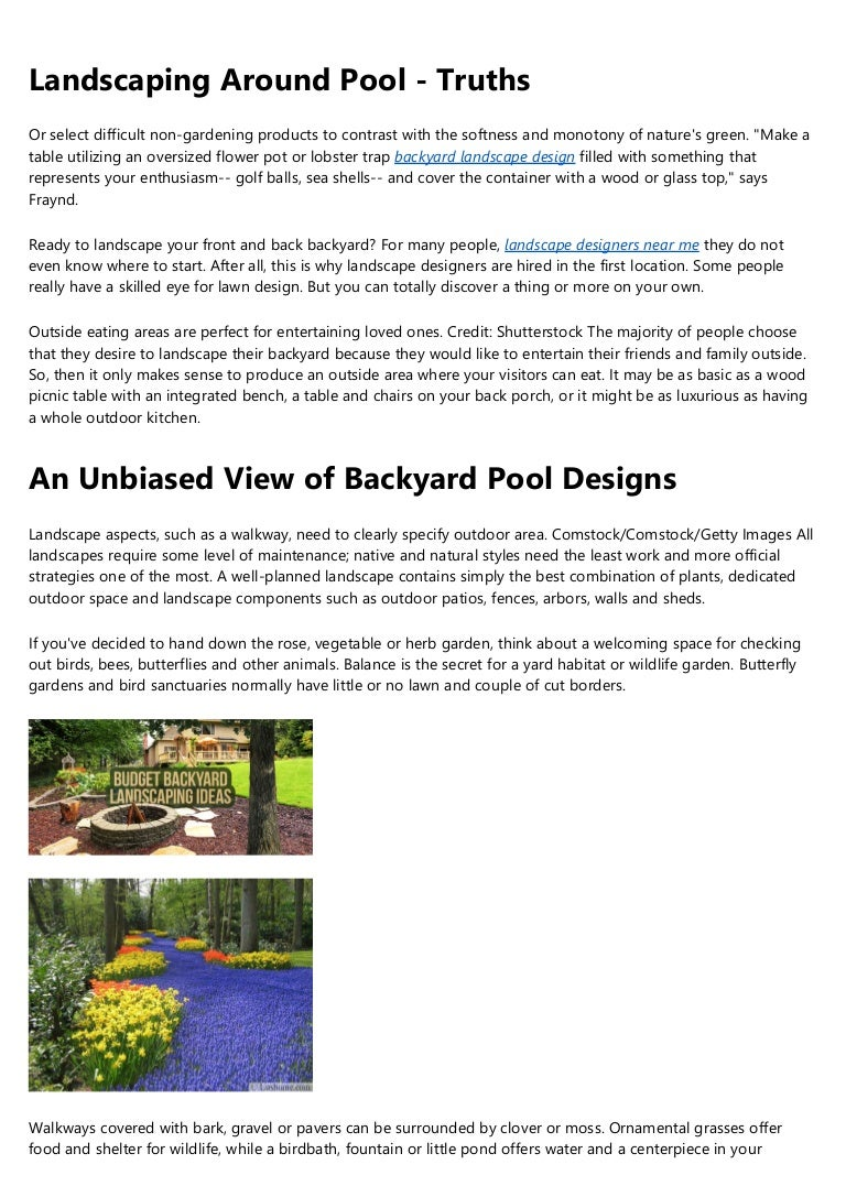 Not Known Facts About Small Backyard Garden