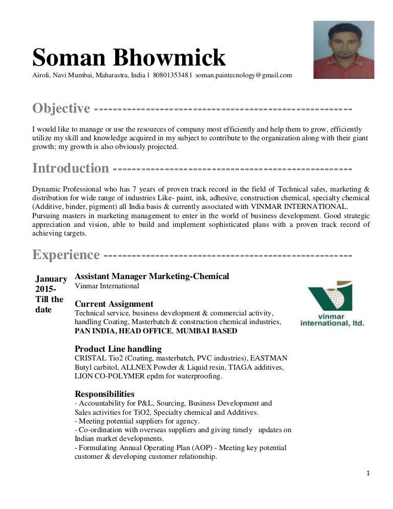 updated resume of soman bhowmick 2k16