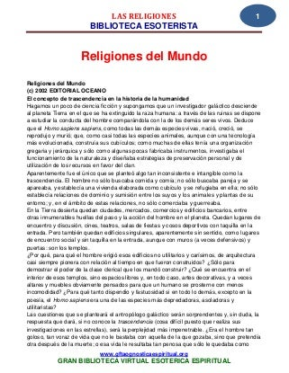 24 16 las religiones www.gftaognosticaespiritual.org