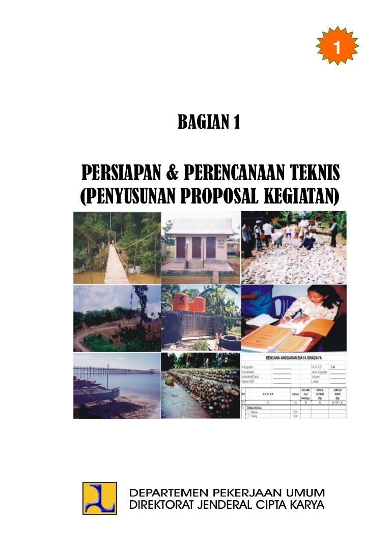 Proposal Sumur Bor Pdf