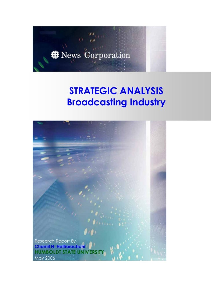 Strategic-Analysis-Newscorp-Fox-[Mba-Project]