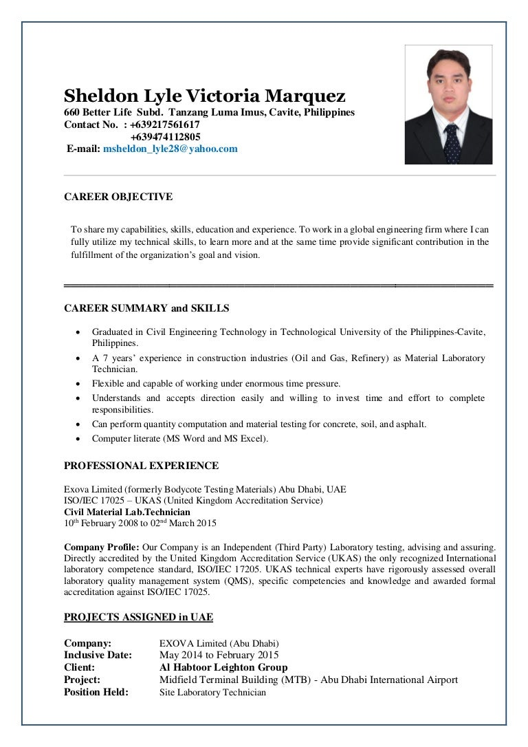 Resume cover letter for freshers