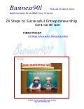 24 Steps to Successful Entrepreneurship