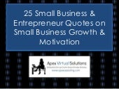 25 Small Business and Entrepreneur Quotes on Business Growth, Marketing and Motivation