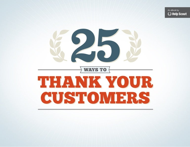 thank you from business to customer