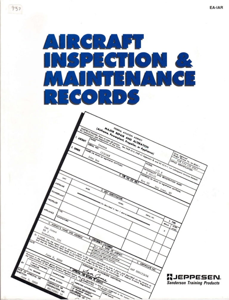 SEAT SERVICE HISTORY BOOK /& MAINTENANCE RECORD LOG
