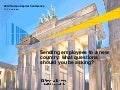 EY Human Capital Conference 2012: Sending employees to a new country - what questions should you be asking