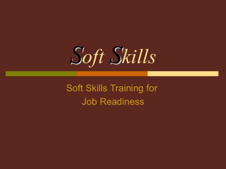 26 soft skills training for job readiness