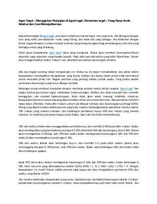 www.togelkita.org - agen togel - mengajukan perjanjian di agen togel, permainan togel - yang harus anda ketahui dan cara melanjutkannya
