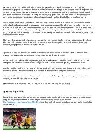 Agen Bola Online Aman Dan Juga Nikmat