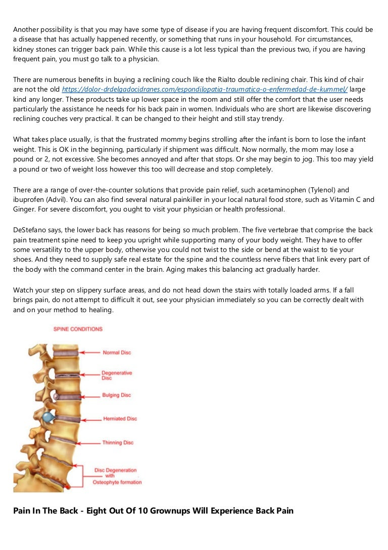 Upper Neck And Back Pain Reliefs