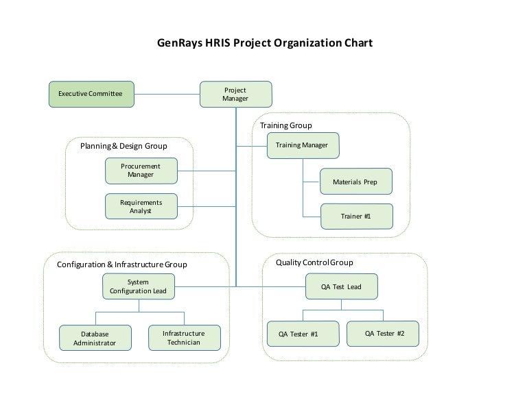 Mgt2 - Project Organization Chart