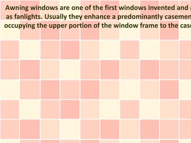 Window Awning Manufacturers Noida