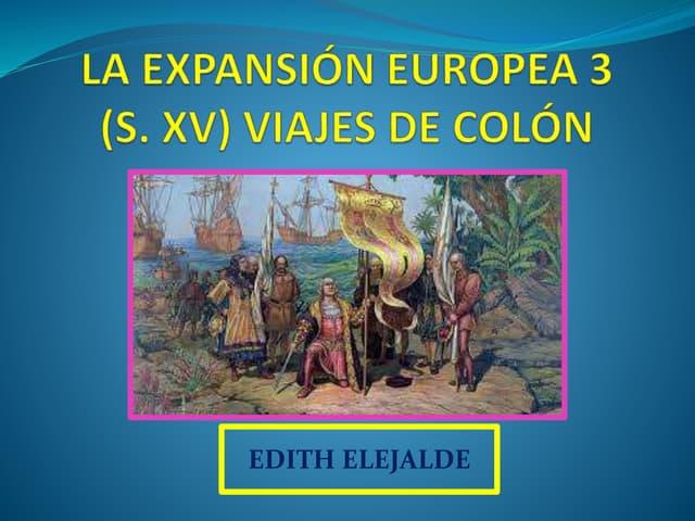 LOS VIAJES DE CRISTOBAL COLON 2