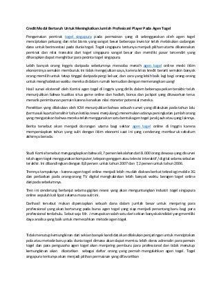 www.togelkita.org - Agen Togel - credit modal bertaruh untuk meningkatkan jumlah profesioanl player pada agen togel