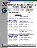 Hawaii State Science and Engineering Fair