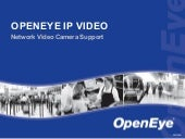 OpenEye IP Video Basics
