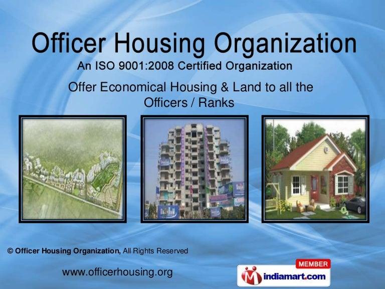 Officer Housing Organization Delhi India