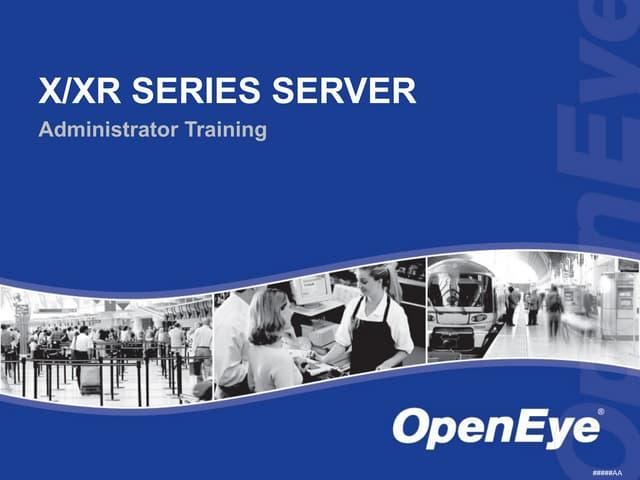 OpenEye DVR Administer Training
