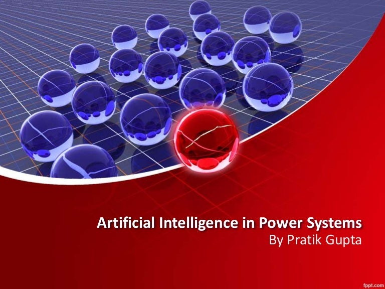 Artiicial intelligence in power system toneelgroepblik Gallery