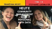 Community Management – Make It Personal With Data #AFBMC