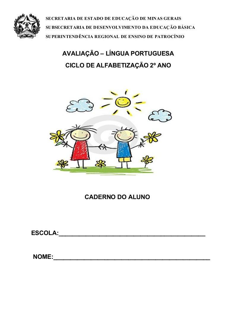 2º ano língua portuguesa - caderno do aluno